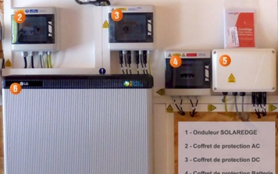 Exemple d'une Installation Batterie