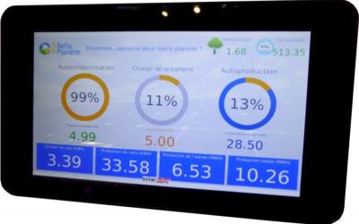 Tablette SolarTAB Batterie